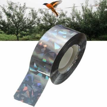 90M Bird Deterrent Tape Audible Visual Flash Pigeon Scare Ribbon