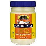 Hain Pure Foods Safflower Mayonnaise, 12 Ounce