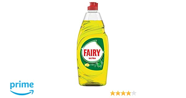 Fairy Limon Detergente para Lavavajillas - 615 ml