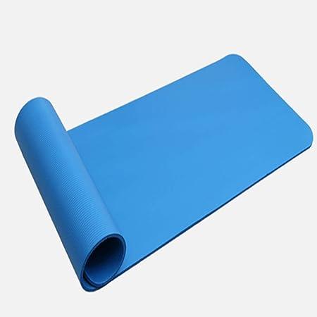 KSNCQJ Yoga Pilates Mat Yoga Mat Aerobic Resistente a la ...
