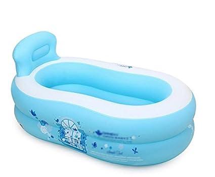 Vasca Da Bagno Bambini : Pratico portatile bambini adulti gonfiabile vasca gonfiabile vasca