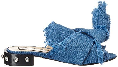 N ° 21 Sandali Aperti 8205.1 Blu (3 Jeans Blu)