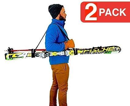Amazon.com: SYB Transportador de esquí: Sports & Outdoors
