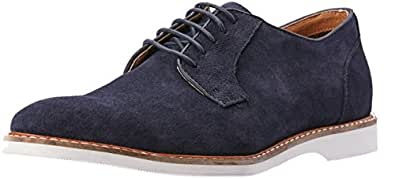 CROFT Men's Radford Lace-Up Flat Shoes, Midnight Suede, EU 40/7 US