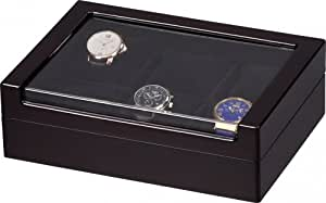 Auer Accessories Doros 06-6E Watch Box for 6 Watches Ebony
