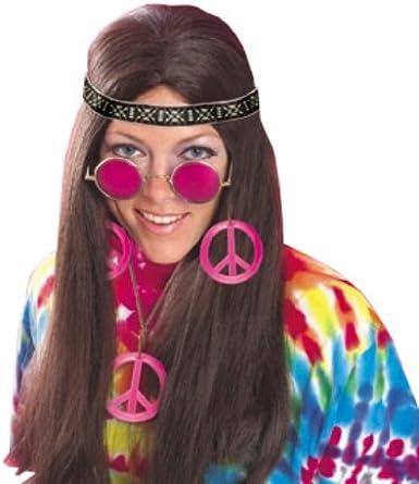 Multicolored Rubie/'s Feeling Groovy Female Hippy Accessory Kit One Size