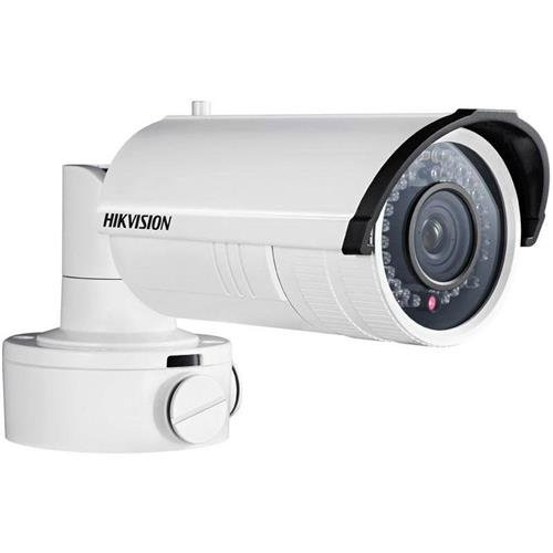 - Hikvision 3MP WDR IR Outdoor Bullet Network Camera with 8-32mm Motorized Variforcal Lens and Heater, 1080p, H264, Day/Night, IP66, Heater, PoE+/12VDC