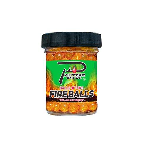 Pautzke Bait Fire Balls Trout Fishing Bait, Brown, 1.65 (Salmon Fishing Bait)