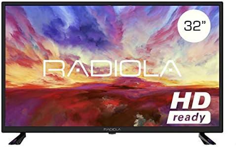 Televisor Led 32 Pulgadas HD, Radiola LD32100K. Resolución 1366 x 768, 3X HDMI, VGA, TDT2, Reproductor y Grabador USB, Color Negro: Amazon.es: Electrónica