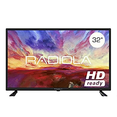 Televisor Led 32 Pulgadas HD, Radiola LD32100K. Resolución 1366 x 768, 3X HDMI, VGA, TDT2, Reproductor y Grabador USB, Color Negro a buen precio