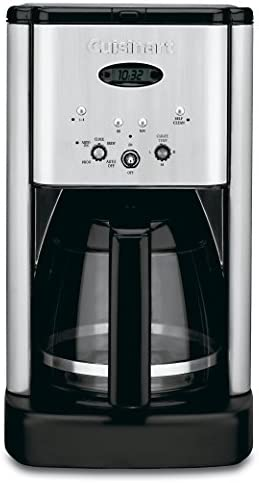 Cuisinart DCC-1200 Brew Central 12 Cup Programmable Coffeemaker, Black Silver