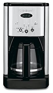 Cuisinart DCC-1200 Brew Central 12 Cup Programmable Coffeemaker, Black/Silver (B00005IBX9) | Amazon price tracker / tracking, Amazon price history charts, Amazon price watches, Amazon price drop alerts