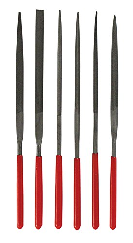 - SE 734NF 6-Piece Needle File Set (140mm x 3mm Dia.)