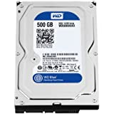 WD Blue 500GB  Desktop  Hard Disk Drive - 7200 RPM SATA 6 Gb/s 16MB Cache 3.5 Inch  - WD5000AAKX