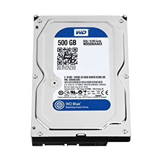 WD Blue 500GB Desktop Hard Disk Drive - 7200 RPM SATA 6 Gb/s 16MB Cache 3.5 Inch - WD5000AAKX (B00461G3MS) | Amazon price tracker / tracking, Amazon price history charts, Amazon price watches, Amazon price drop alerts