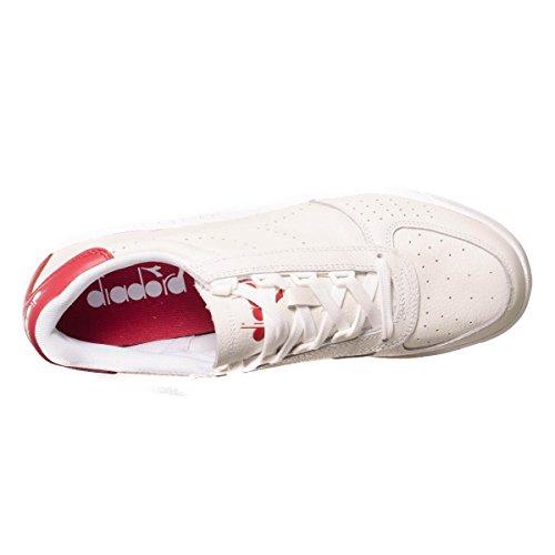 para Premium L Zapatillas Elite Bianco B Hombre Diadora qTw87q