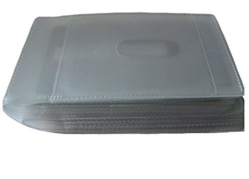 Trevisco Ersatz Kreditkarte Tasche Einsatz für die Karten Transparent 1 x 20 Card Landscape 1 X 20 Card Landscape bTu9w