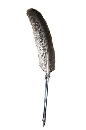 pluma de pluma antigua pluma pluma pluma tinta pluma regalo creativo: Amazon.es: Oficina y papelería