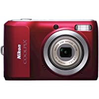 Nikon Coolpix L20 10MP Digital Camera with 3.6 Optical Zoom and 3 inch LCD, (Deep Red) At A Glance Review Image