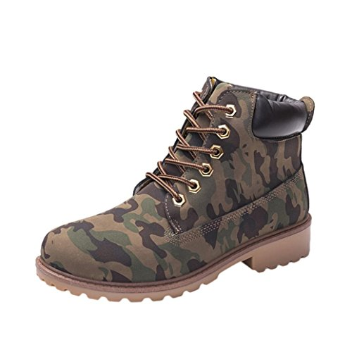 Casual Ankle Camouflage Warm Shoes Keep Winter Ladies Boots Sikye Outdoor Martin Women O50qwFP