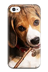 Brooullivan Premium Protective Hard Case For Iphone 4/4s- Nice Design - Dog