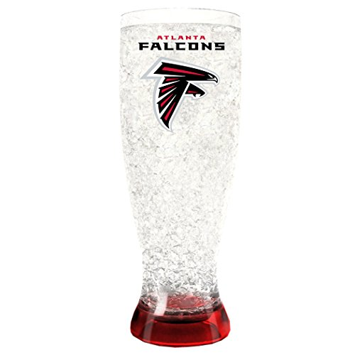 Duck House NFL Atlanta Falcons 16oz Crystal Freezer Pilsner (Falcons Atlanta Fan Series)