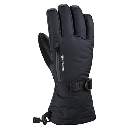 Dakine Women's Dakine Leather Sequoia Gloves, Black, Small ()