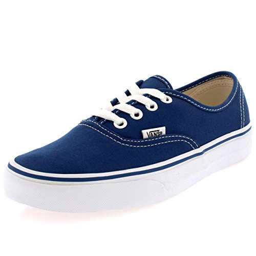 Vans Unisex Authentic Navy Canvas Vn000ee3nvy Mens 8