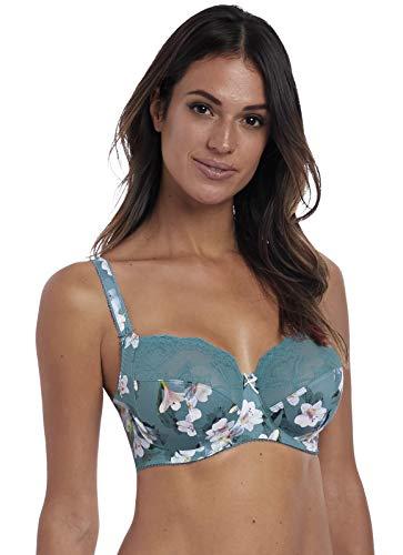 Fantasie Women's Camilla Underwire Flora and Jade Bra Bra, Jade, 36G