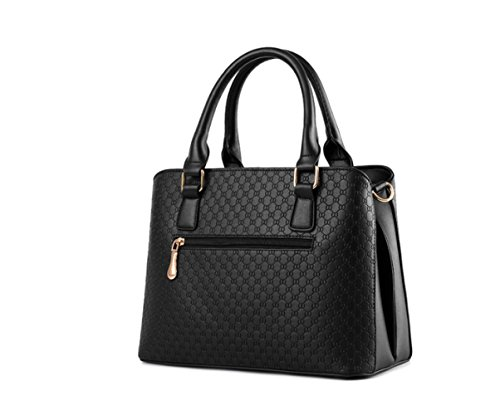 Bag Big 2018 Sacs Bag Package bandoulière 10 Ms noirs Lady à Zm Pure Couleur New Diagonal FxnwO6qdCA