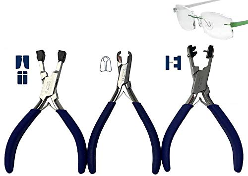 Pliers for Rimless Adjusting