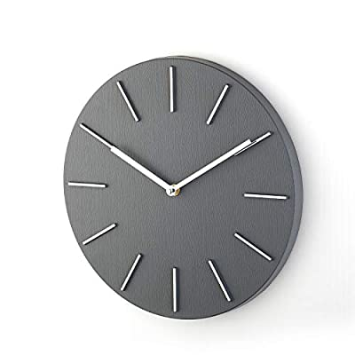 """Bloom Flower 14 Inch Elegant Decorative Wall Clock Ideal for Living Room, Office - Large - Concise style but special and elegant design meet all your decoration need 14"""" decorative clock features Plastic frame & cool grey dial like wood Look with silver hands and scale, which contrast with background make you easy to read Without Second Hand, Silent & Non-ticking,ensure a good and quiet environment.Quartz movements guarantee an accurate time - wall-clocks, living-room-decor, living-room - 41JiIlnhNRL. SS400  -"""
