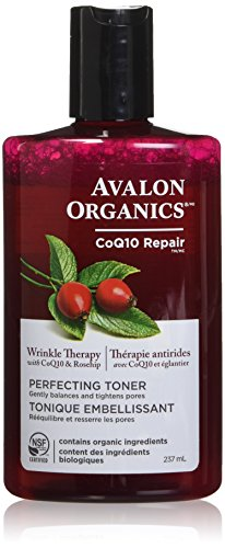 Avalon Organics Wrinkle Therapy Perfecting Toner, 8 oz.