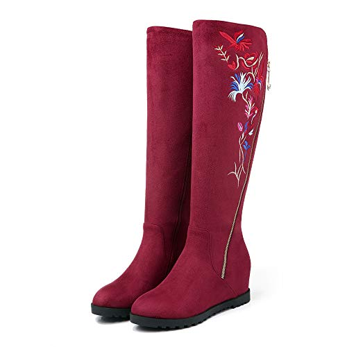 Caldi in rosso Altezza 34 34 34 più Donna Stivali CLLCR da Donna Stivali   73a620