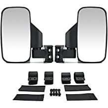 "UTV Side Rear View High-Definition Convex Mirrors: Polaris Ranger Accessory Great Side by Side Mirror for RZR XP1000 900 800 Ranger (1.75"" Side)"