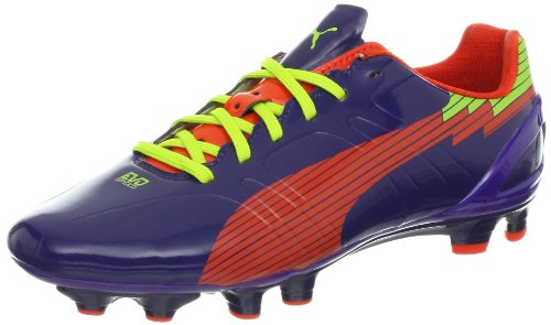 PUMA Women's Evospeed 3 FG Soccer Cleat,Astral Aura/Orange/P