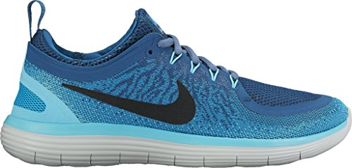 Free Fitness Blue industrial Femme Black de Distance Women's 2 Beige Blue Lagoon Chaussures Running RN Nike AngB5qP8wx
