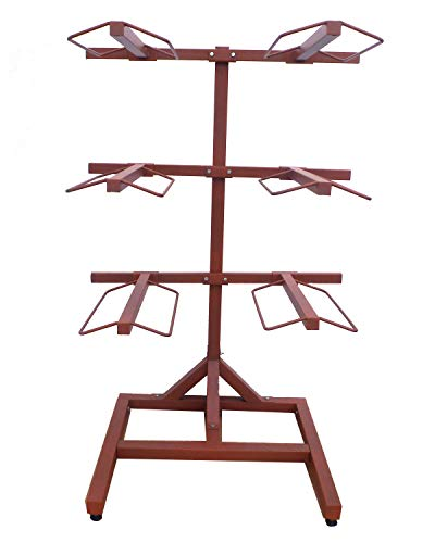 Apple Picker 6 Arm Metal Saddle Rack for sale  Delivered anywhere in USA