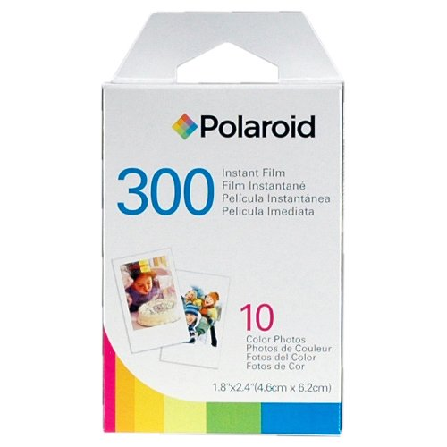 Polaroid PIC-300R Instant Film Analog Camera (Red) with (2) 300 Instant Film Packs of 10 + Case + Kit