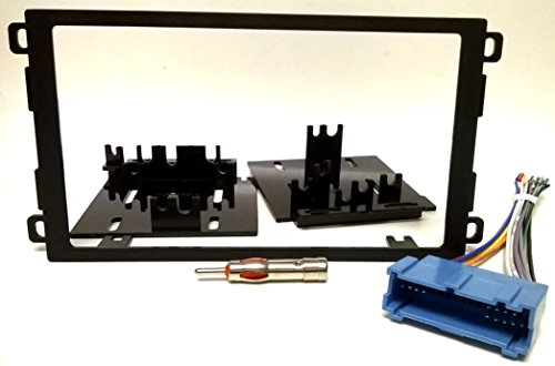 Dash kit, wire harness and Antenna Adapter for installing a new Double Din radio into Buick Century (97-2005), Le Sabre (95-99), Park Ave (95-2002), Regal (95-2004), Riviera (96-99), Roadmaster (95-96), Skylark (96-98) 95 Buick Park Ave