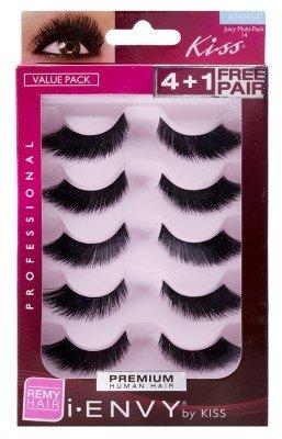 e76c18c56eb Amazon.com : i.Envy by Kiss Eye Lash Value Pack #KPEM14 : Fake Eyelashes  And Adhesives : Beauty