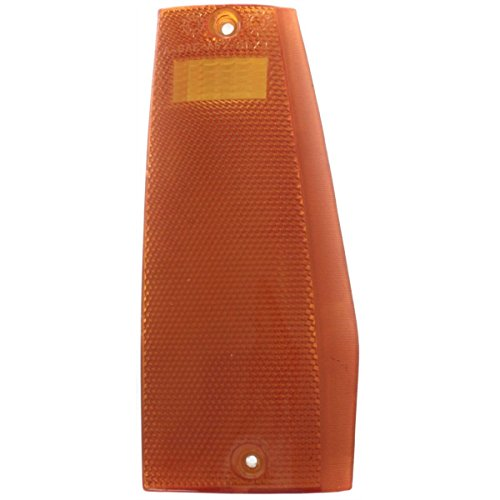DAT AUTO PARTS Side Marker LAMP Assembly Replacement for 84-96 Jeep Cherokee Corner of Fender Front Right Passenger Side -