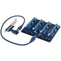 SEDNA - PCI express 1X slots Riser / 4 Port Multiplier