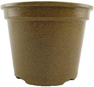 Vipot Macetas biodegradables (9 cm de alto, 10 unidades): Amazon ...