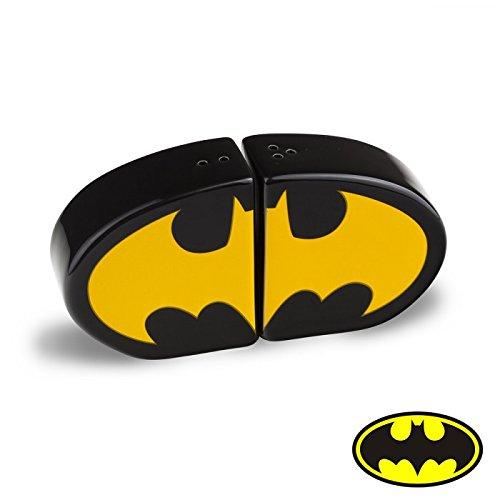 Dc Comics Batman Salt And Pepper Shaker, Black (Best 4 Slice Toaster Uk)
