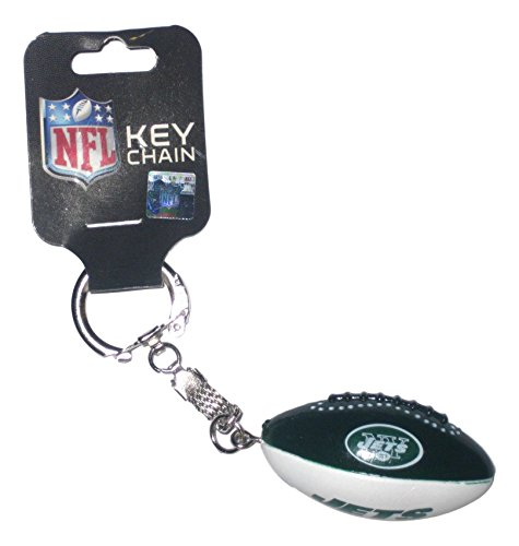 New York Jets Football Style Key Chain (New York Lanyard Mets)