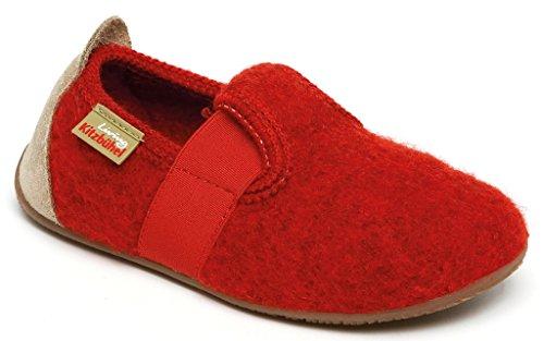 Living Kitzbuhel Unisex-Child Uni Slippers Rosso (Rot (350 Rot)) zZBzwoE