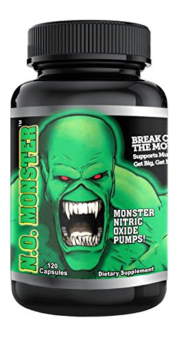 #1 RATED NITRIC OXIDE PRODUCT. Colossal Labs N.O. Monster Stack, powerful pumps and enhance muscle gains