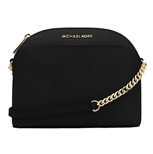 Michael Kors saffiano crossbody bag black