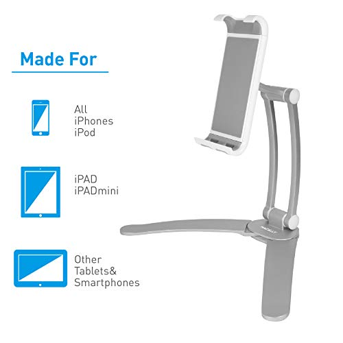 Under Cabinet Holder Macally 2-in-1 Kitchen Tablet Stand iPad Wall Mount
